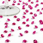Diamants de Table Mariage Roses Fushia 10 mm (lot de 500)