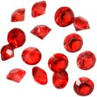 Diamants Décoratif Rouge 10 mm Déco Table Mariage (lot de 500)
