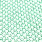 100 strass diamants auto-collant rond 4 mm vert