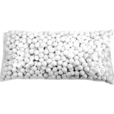 ARCHIVES  - Sachet de 1000 boules dancing blanches : illustration